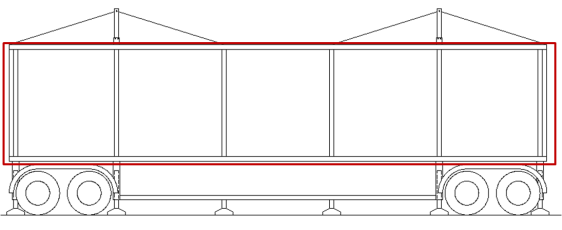 Fig. 15 Section of the open module