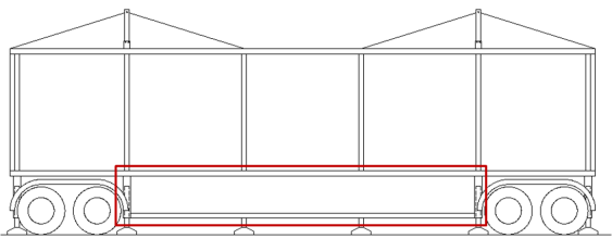 Fig. 16 Section of the open module