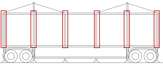 Fig. 17 Section of the open module